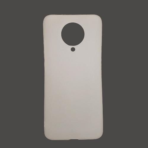 Чохол Fiji Soft для Xiaomi Redmi K30 Pro силікон білий прозорий бампер