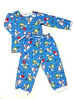 Детская пижама 74, синий