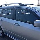 Дефлектори вікон вітровики на MITSUBISHI Мітсубісі Outlander 2003-2007, фото 5