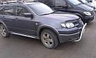 Дефлектори вікон вітровики на MITSUBISHI Мітсубісі Outlander 2003-2007, фото 2