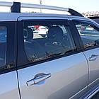 Дефлектори вікон вітровики на MITSUBISHI Мітсубісі Outlander 2003-2007, фото 4