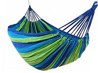 Гамак тканевый Stenson R83127 150х200 см Синий/Зеленый