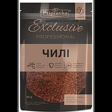 """Приправа """"Exclusive Professional"""" перец Чили измельченный (50 г)"""