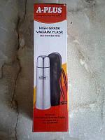 Термос А-ПЛЮС с ручкой, нержавейка, 1,5 л,электрочайники,кухонная посуда,чайники,электрический,термосы