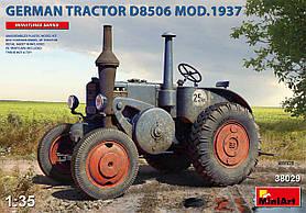 Lanz D8506 Bulldog обр. 1937 г. Сборная модель немецкого трактора в масштабе 1/35. MINIART 38029
