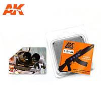 Набор цветных линз для имитации фар, Оптический цвет 1,5мм. AK-INTERACTIVE AK-223