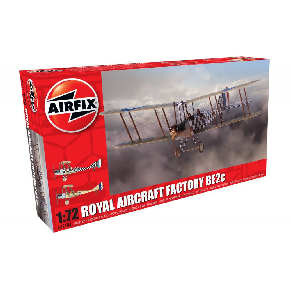 ROYAL AIRCRAFT FACTORY BE2C SCOUT. 1/72 AIRFIX 02104