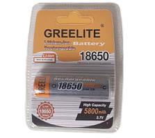 Аккумуляторная батарейка 18650 Li-Ion Greelite 5800mah