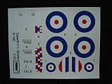 Sopwith 1 Strutter Comic fighter. Сборная модель истребителя-биплана в масштабе 1/72. TOKO 140, фото 5