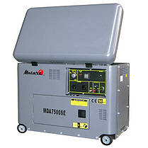 Дизельный генератор Matari MDA 7000SE, фото 3
