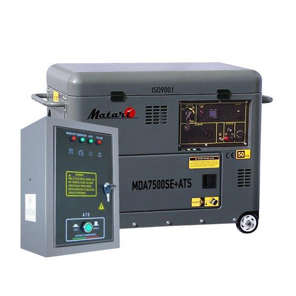Дизельный генератор Matari MDA 9000SE-ATS