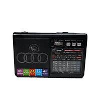 Радиоприёмник-колонка аккумуляторный Golon RX-1313 MP3 USB SD Черный