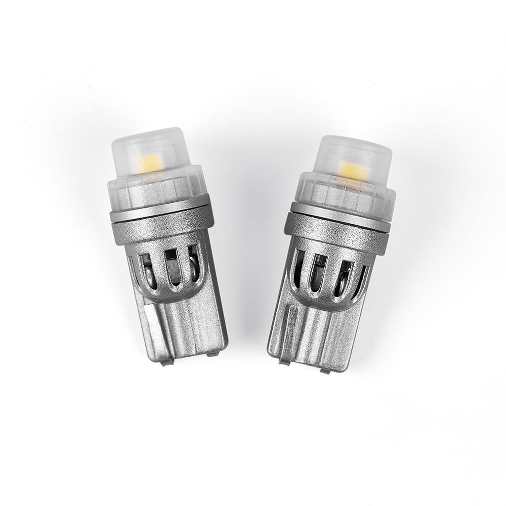 Світлодіодні лампи Carlamp W5W Canbus 6000 K, 300 Ln для габаритів з обманкою (GST-T10)