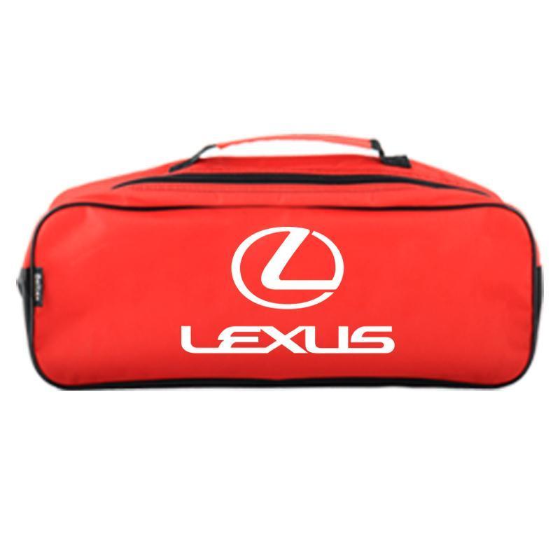 Сумка-органайзер в багажник красная полиэстер BELTEX Lexus (SU41)