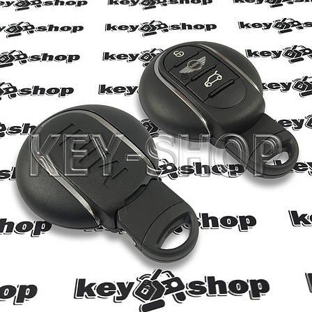 Оригинальный смарт ключ Mini (Мини) 3 кнопки, ID49 (PCF7953V) 433MHz, фото 2