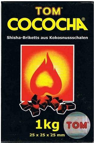 Уголь кокосовый Tom Cococha Gold 1 кг