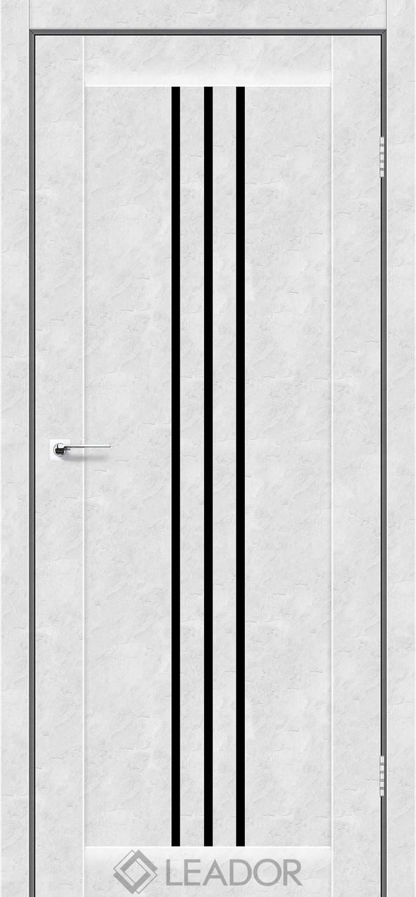 Двери Leador VERONA Белый бетон BLK