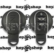 Смарт ключ Mini (Мини) 3 кнопки, ID49 (PCF7953V) 433MHz