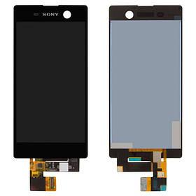 Дисплей (экран) для Sony E5603 Xperia M5 з сенсором (тачскріном) черный