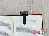 Закладка для книг Скрепка VW t1 bus Bookmark