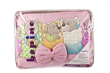 """Комплект детского постельного белья """"Звери спят"""", ткань хлопок, фото 2"""