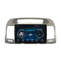 """Штатная автомобильная магнитола 9"""" Toyota Camry V30 (2002-2006г.) память 1/16 GPS Android"""