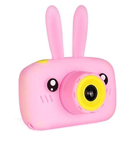 Детский цифровой фотоаппарат Smart Kids TOY G 9 Rabbit Pink 1 камера 20MP Full HD 1080P