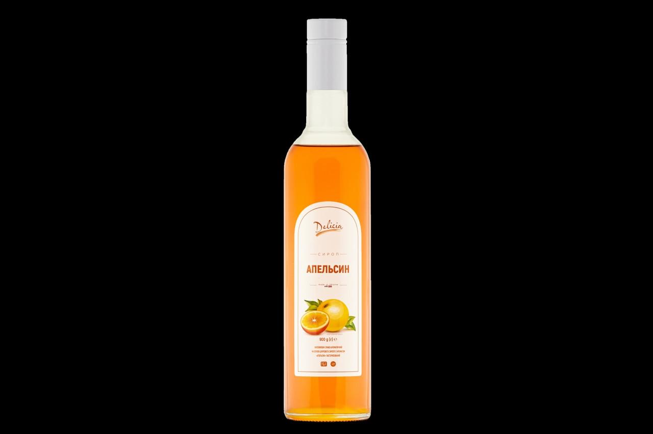 Сироп Апельсин Delicia 900 г