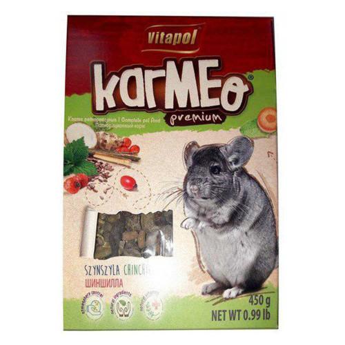 Преміум корм Vitapol Karmeo для шиншил 450 г