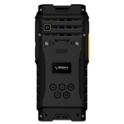 Мобільний телефон SIGMA X-treme DZ68 Black/Yellow (4827798466322)
