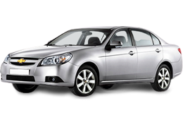 Спойлера для Chevrolet (Шевроле) Epica 2/3 2006-2014