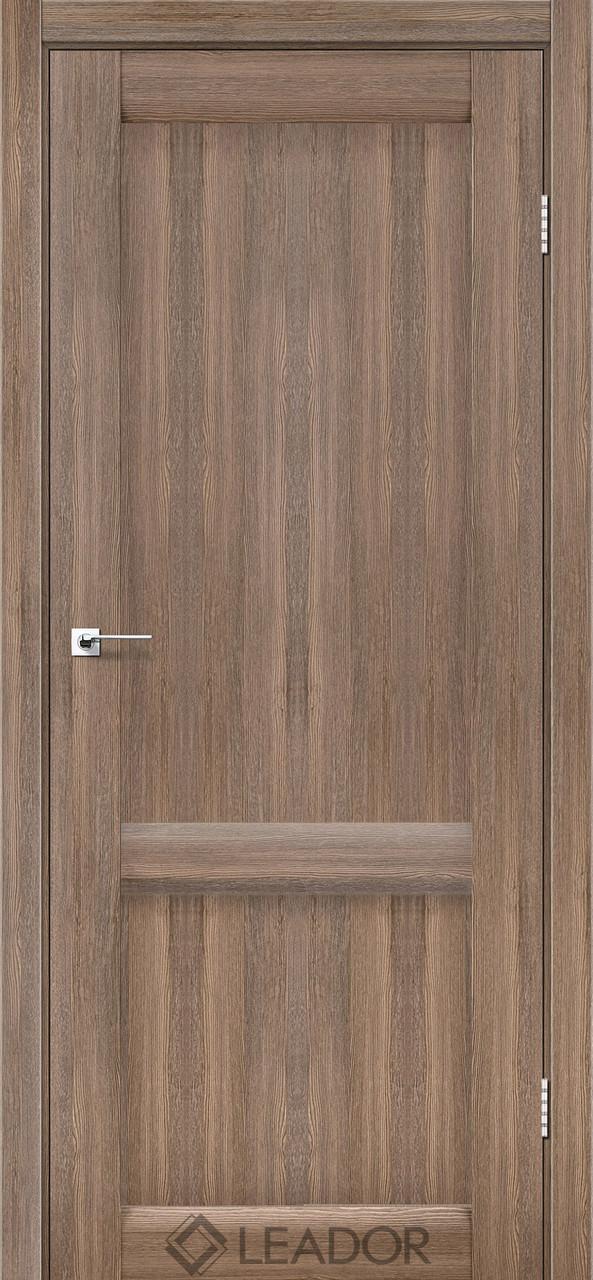 Двери Leador LAURA LR-02 Серое дерево ПГ