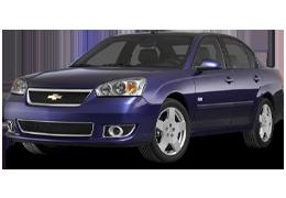 Спойлера для Chevrolet (Шевроле) Malibu 6 2004-2008