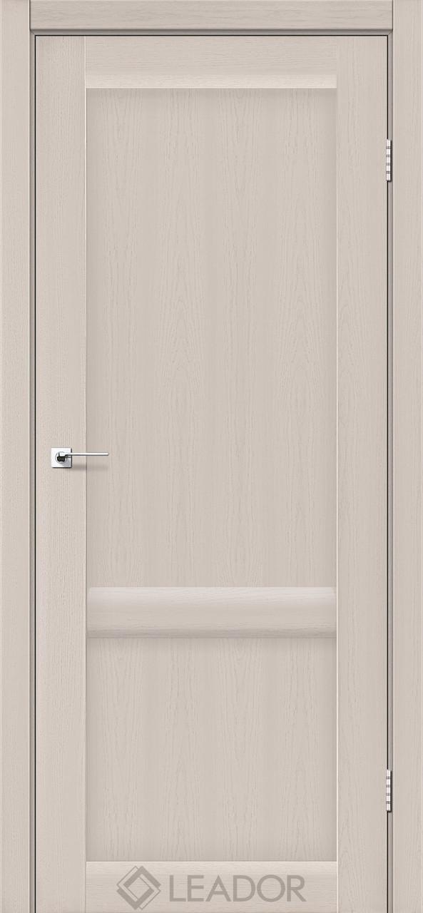 Двери Leador LAURA LR-02 Дуб латте ПГ