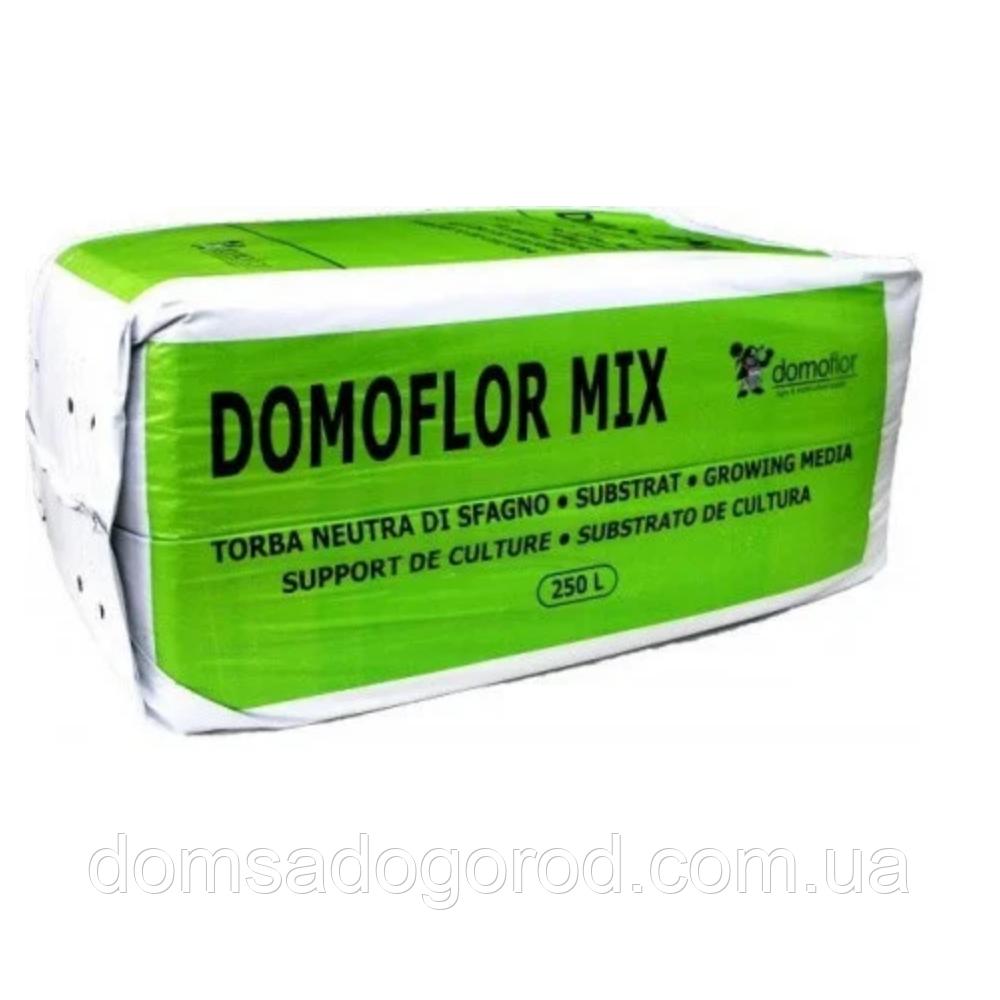 """Торф'яної субстрат, фракція 0-6 мм """"Domoflor"""" - 250 л"""