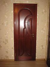 Двери межкомнатные из ольхи