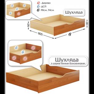 Ящик подкроватный для кроватей Дуэт и Нота, фото 2