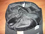 """Штаны женские """"Kenalin"""" на меху, с кожаной вставкой. Термо. р. XL/2XL, фото 4"""