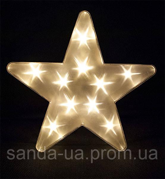 """Украшение декоративное """"Звезда"""", диаметр 25 см"""