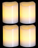 Комплект из  4-х свечек декоративных
