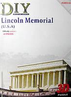 """3D пазл  """"Мемориал Линкольна"""""""