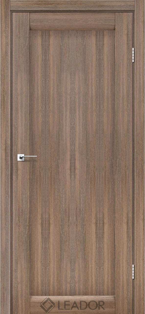 Двери Leador BAVARIA серое дерево ПГ