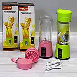 Портативный блендер Smart Juice Cup Fruits от USB, фото 2