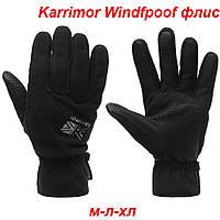 Мужские перчатки Karrimor WindProof флисовые М-ХЛ