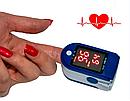 Электронный пульсометр оксиметр на палец Pulse Oximeter, фото 5