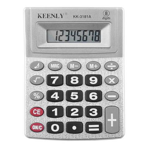 Калькулятор Keenly KK-3181A-8, музыкальный, фото 2