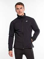 Спортивная куртка с мембраной и отражателями Radical Crag, с виндстоппером, черная M