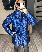 Женская зимняя теплая куртка короткая норма. Размер: 42-44, 44-46. Цвет: черный, синий, пудра.
