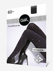 Колготи жіночі 3D Flash&black 60Den. ТМ Gatta. Розмір: 5