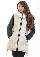 Зимняя курточка модного фасона